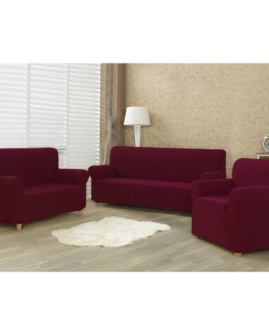 4Home Multielastický poťah na sedaciu súpravu Comfort bordó, 180 - 220 cm