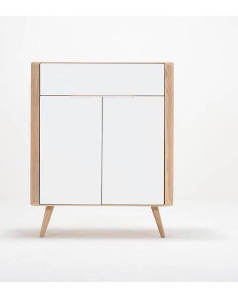 Gazzda Komoda z dubového dreva Gazzda Ena One, 90×42×110 cm