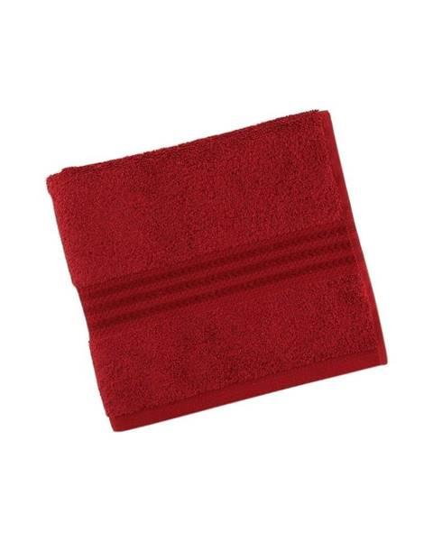 Hobby Červený uterák z čistej bavlny Sunny, 30 × 50 cm