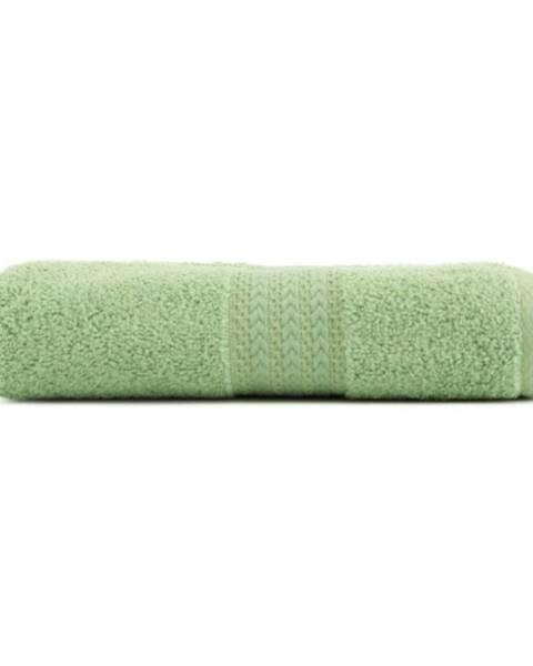 Hobby Zelený uterák z čistej bavlny Sunny, 70 × 140 cm