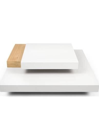 Biely stolík TemaHome Slate