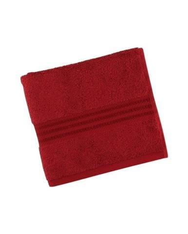 Červený uterák z čistej bavlny Sunny, 30 × 50 cm