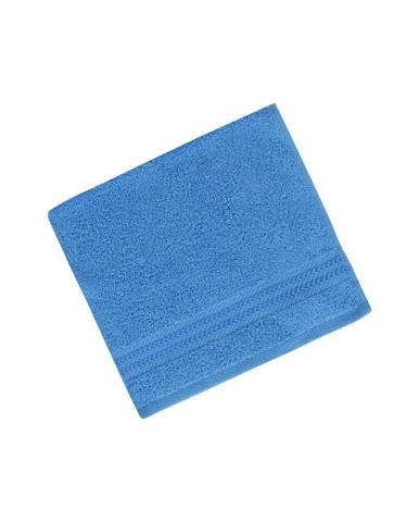 Modrý uterák z čistej bavlny Sky, 30 × 50 cm