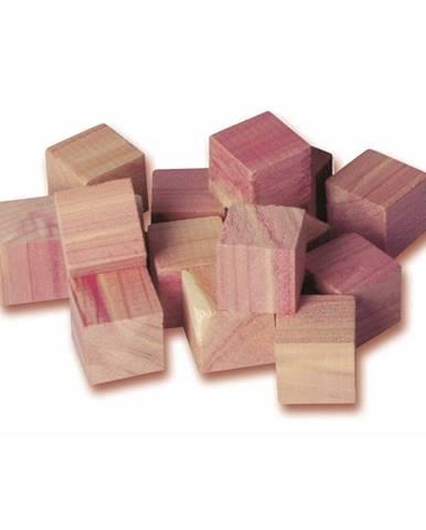 Sada 16 kociek z cedrového dreva do šatníkovej skrine Compactor