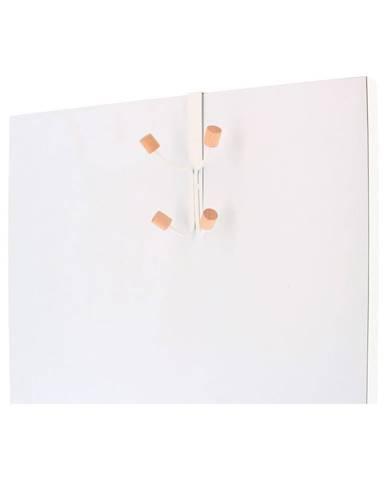 Závesný vešiak na dvere z kovu so 4 háčikmi Compactor
