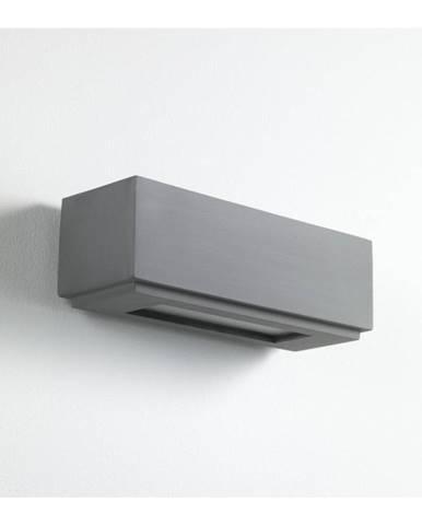 Sivé nástenné svietidlo Tomasucci Siena