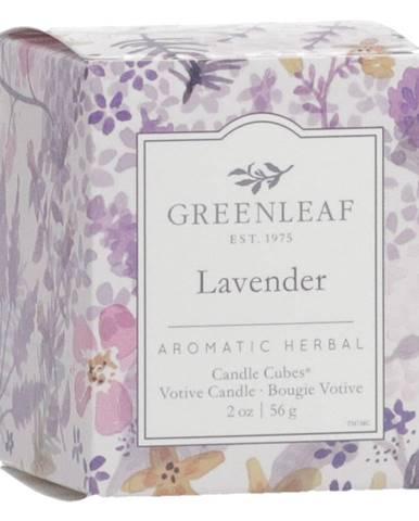 Sviečka s vôňou levandule Greenleaf Lavender, doba horenia 15 hodín