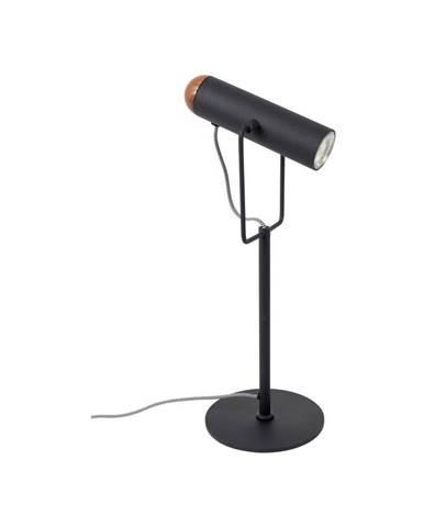 Čierna stolová lampa Zuiver Marlon