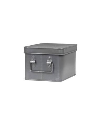 Kovový úložný box LABEL51 Media, šírka 22 cm
