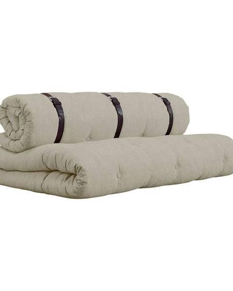 Karup Design Rozkladacia pohovka s béžovým poťahom Karup Design Buckle Up Linen
