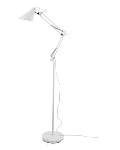 Biela železná stojaca lampa Leitmotiv Fit