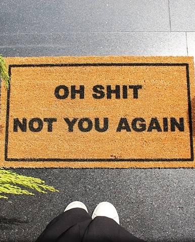 Rohožka Doormat Oh Shit, 70×40 cm