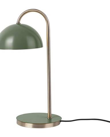 Stolová lampa v matnej zelenej farbe Leitmotiv Decova