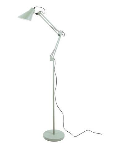 Zelená železná stojaca lampa Leitmotiv Fit