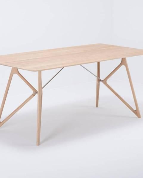 Gazzda Jedálenský stôl z masívneho dubového dreva Gazzda Tink, 180×90cm
