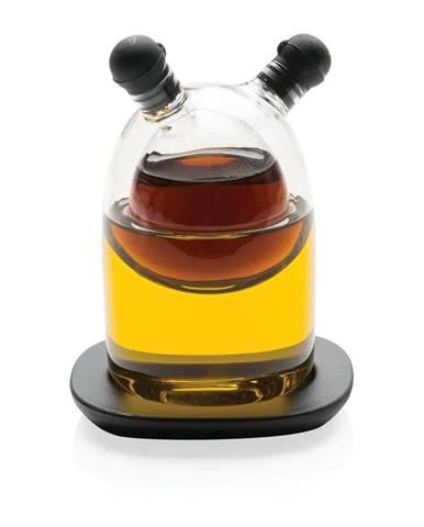 Sklenená fľaša na olej a ocot XD Design Orbit, 200 ml