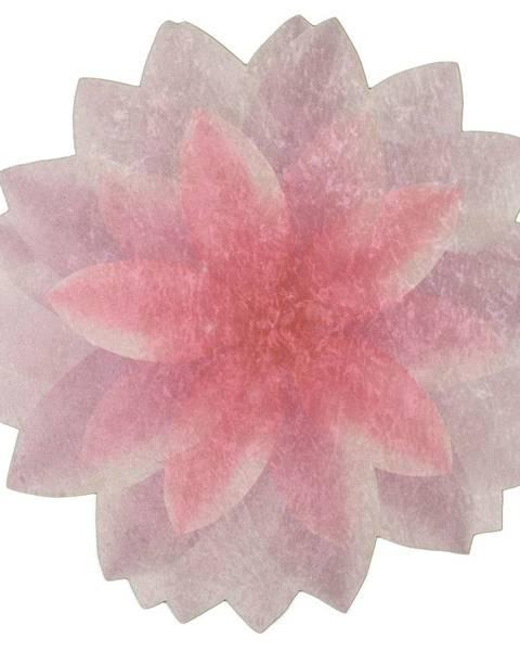 Vitaus Koberec Vitaus Flowerina, ⌀ 100 cm