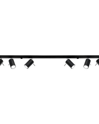 Čierne stropné svietidlo Nice Lamps Etna 6L