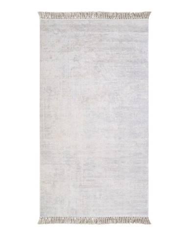 Sivý koberec Vitaus Hali Geometrik, 50×80cm