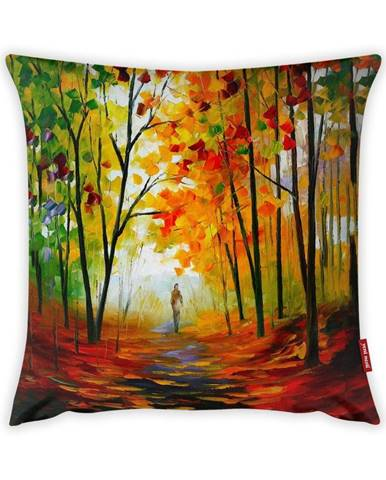 Obliečka na vankúš Vitaus Palireto Autumn Tres, 43×43 cm