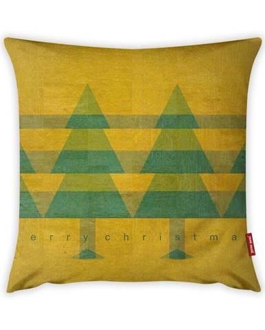 Obliečka na vankúš Vitaus Vintage Trees, 43×43 cm