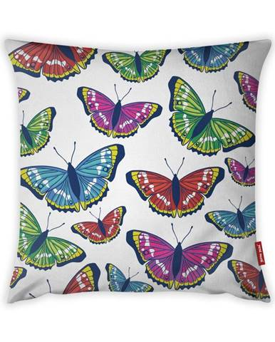 Obliečka na vankúš Vitaus Butterflies, 43×43 cm