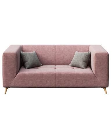 Ružová pohovka MESONICA Toro, 187 cm