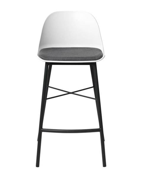 Unique Furniture Biela barová stolička Unique Furniture Whistler