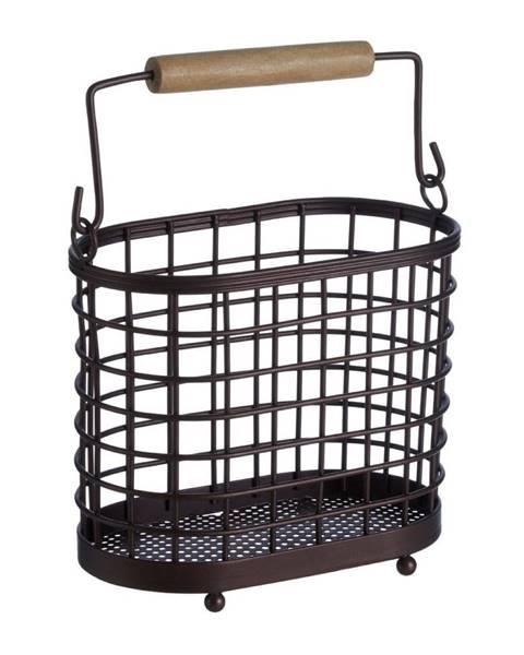 Premier Housewares Železný stojan s dreveným úchytom na kuchynské nástroje Premier Housewares