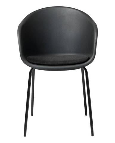 Čierna jedálenská stolička Unique Furniture Topley
