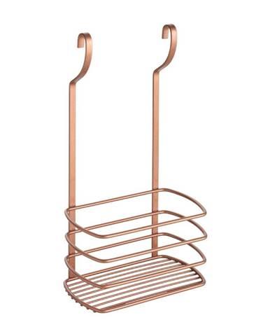 Závesná polička na fľaše Metaltex Copper