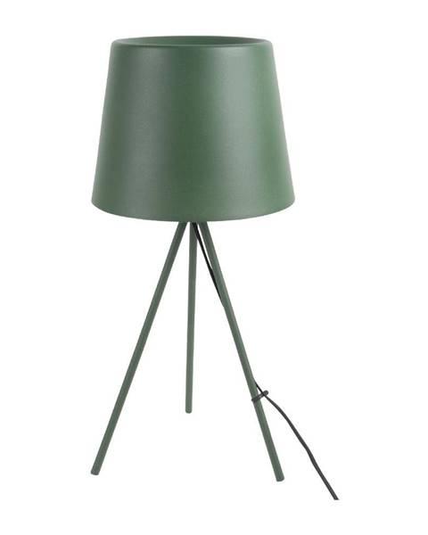 Leitmotiv Tmavozelená stolová lampa Leitmotiv Classy