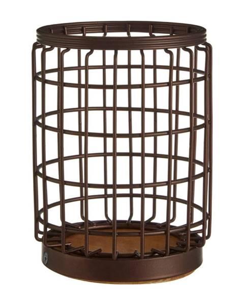 Premier Housewares Železný stojan v bronzovej farbe na kuchynské nástroje Premier Housewares, Ø 12×17 cm