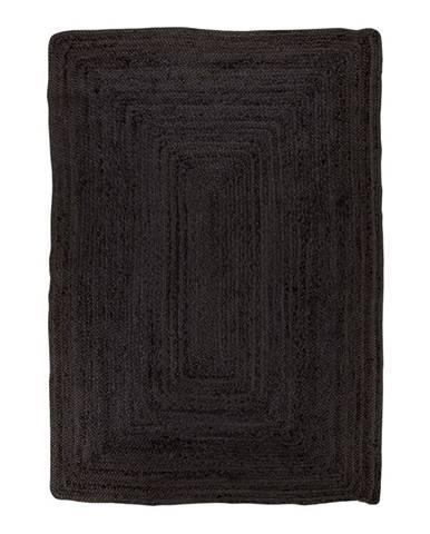 Čierny koberec HoNordic Bombay Rug, 180 x 240 cm