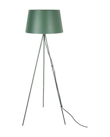 Tmavozelená stojacia lampa Leitmotiv Classy