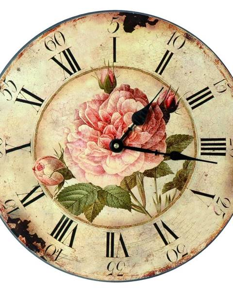Antic Line Hodiny Roses, 33 cm