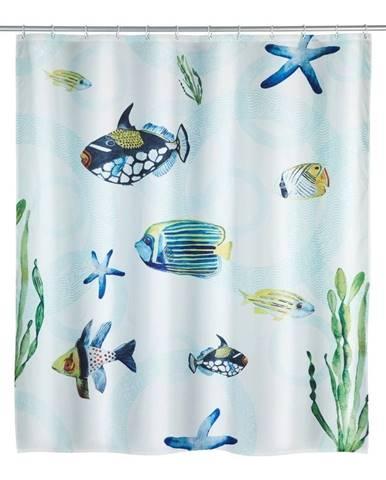 Sprchový záves Wenko Aquaria, 180 x 200 cm