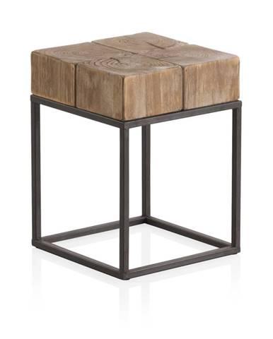 Stolička s kovovými nohami Geese Robust, 33 x 33 cm