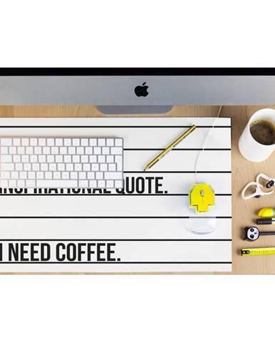 Podložka na pracovný stôl Really Nice Things Coffee