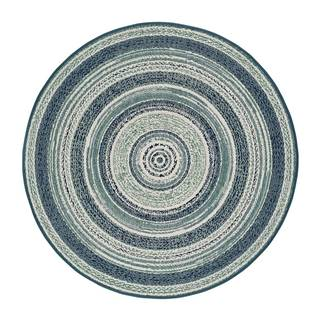 Modrý vonkajší koberec Universal Verdi, ⌀ 120 cm