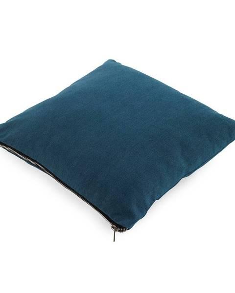 Geese Modrý vankúš Geeso Soft, 45×45 cm