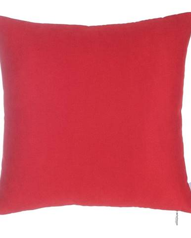 Červená obliečka na vankúš Mike&Co.NEWYORK Simple, 43 × 43 cm