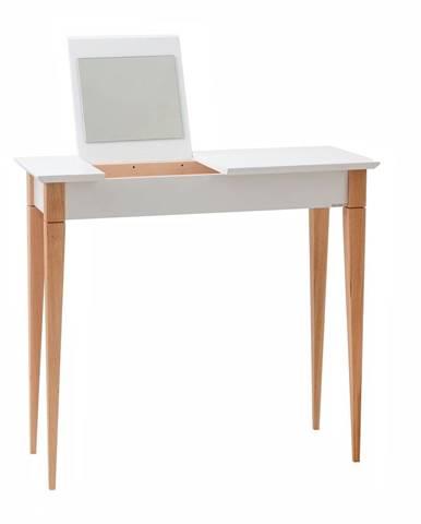 Biely toaletný stolík Ragaba Mimo, šírka 65 cm
