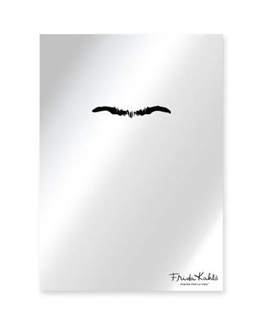 Nástenné zrkadlo Madre Selva Espejo Decorado Frida Eyebrown, 50×70 cm