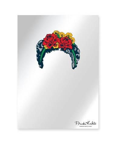 Nástenné zrkadlo Madre Selva Espejo Decorado Frida Hair, 50×70 cm