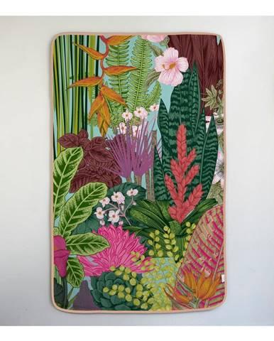 Osuška Madre Selva Palm Town, 90×150 cm