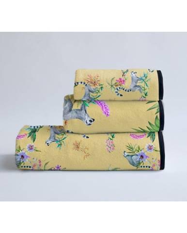 Súprava 3 uterákov Madre Selva Lemur