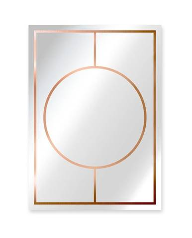Nástenné zrkadlo Surdic Espejo Copper, 50×70 cm