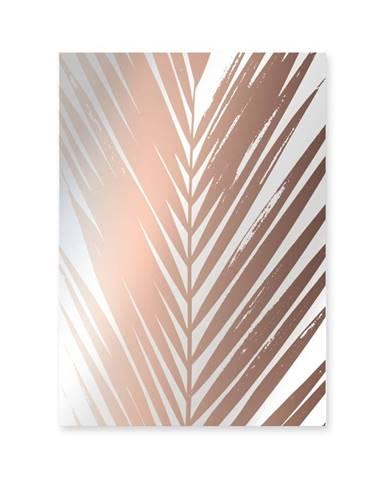 Nástenné zrkadlo Surdic Espejo Decorado Mauritia Copper, 50×70 cm