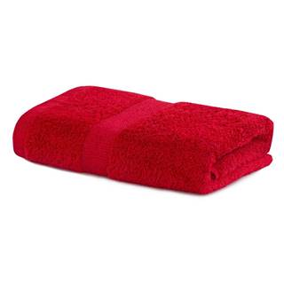 Červený uterák DecoKing Marina, 50 × 100 cm